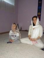 Meditando con la nobleza y la inocencia